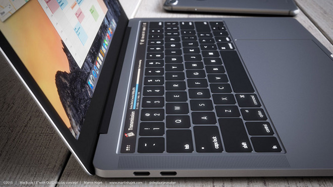 MacBook Pro con Barra Touch: lancio imminente