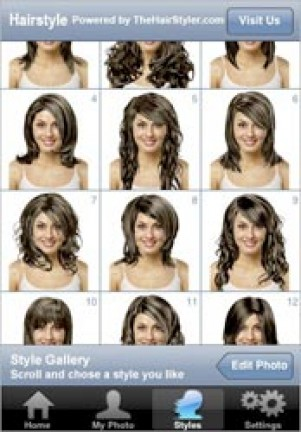 Hairstyle per iPhone