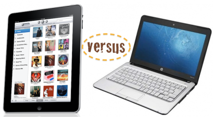 ipad vs netbook