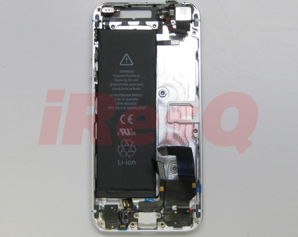 iphone 5 con batteria