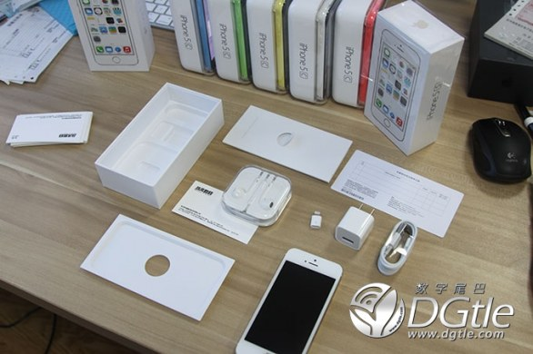 iPhone 5s e iPhone 5c unboxing