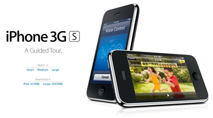iPhone 3G S Guided Tour