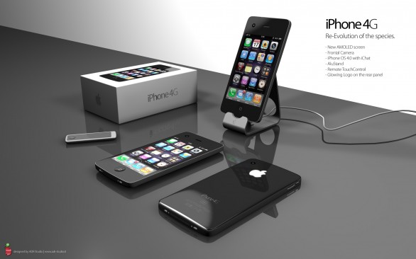 Un bellissimo concept dell'iPhone 4G