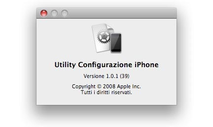 iPhone Configuration Utility 1.0.1