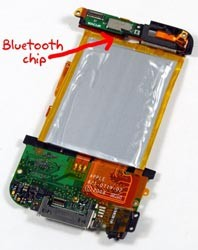 Scoperto chip Bluetooth nell'iPod Touch 2G