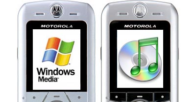 itunes windows media motorola