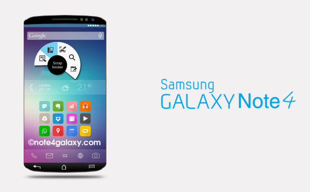 phablet, Galaxy Note 4