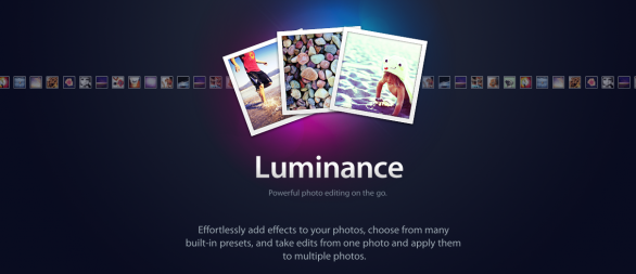 luminance iphone app fotografia