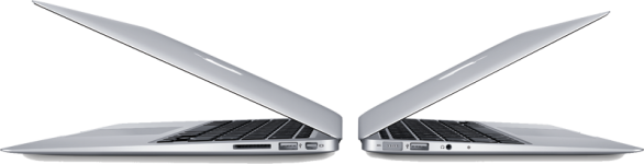Nuovi MacBook Air con almeno 4 GB di RAM e SSD da 128 GB