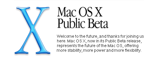 Welcome to Mac OS X Public Beta