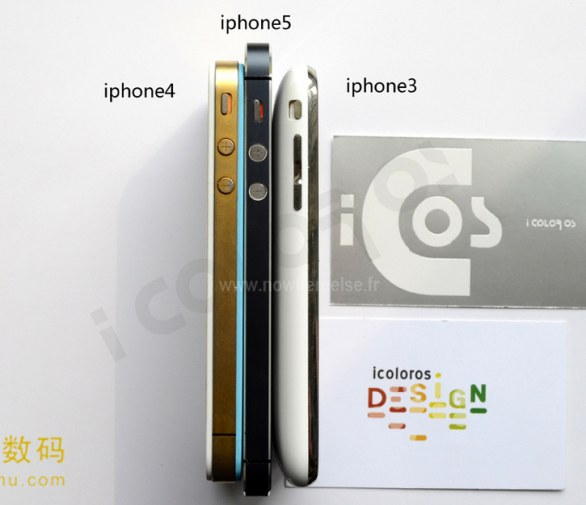 Nuovo iPhone 5 con iPhone 3G