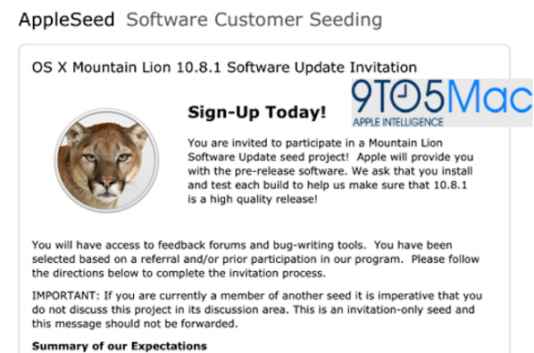 osx 1081 mountain lion beta 1