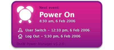 Power Manager Widget