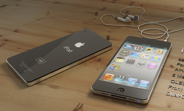 Rendering iPod touch 5G o iPhone 5