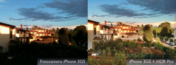 tramonto hdr con iphone 3gs