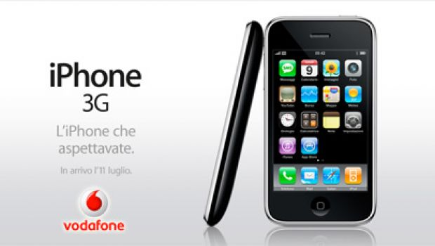 Vodafone italia conferma i prezzi di iphone 3g for Iphone x 3 italia