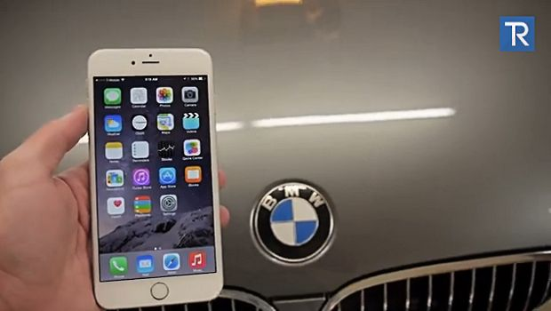 iPhone 6 Plus resiste al test della BMW