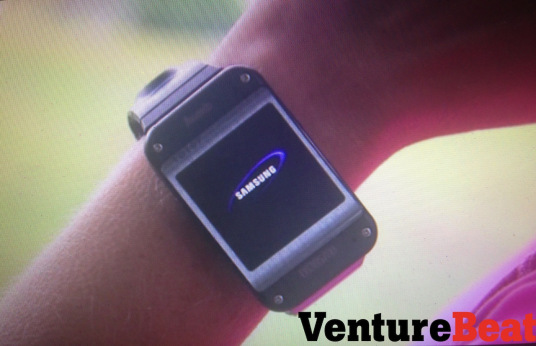 Galaxy Gear, via VentureBeat