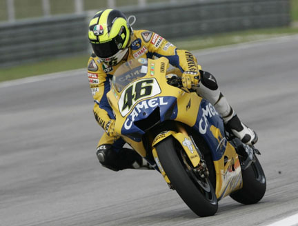 Rossi vince sepang malesia 2006