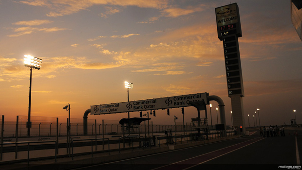 Losail Circuit in Qatar