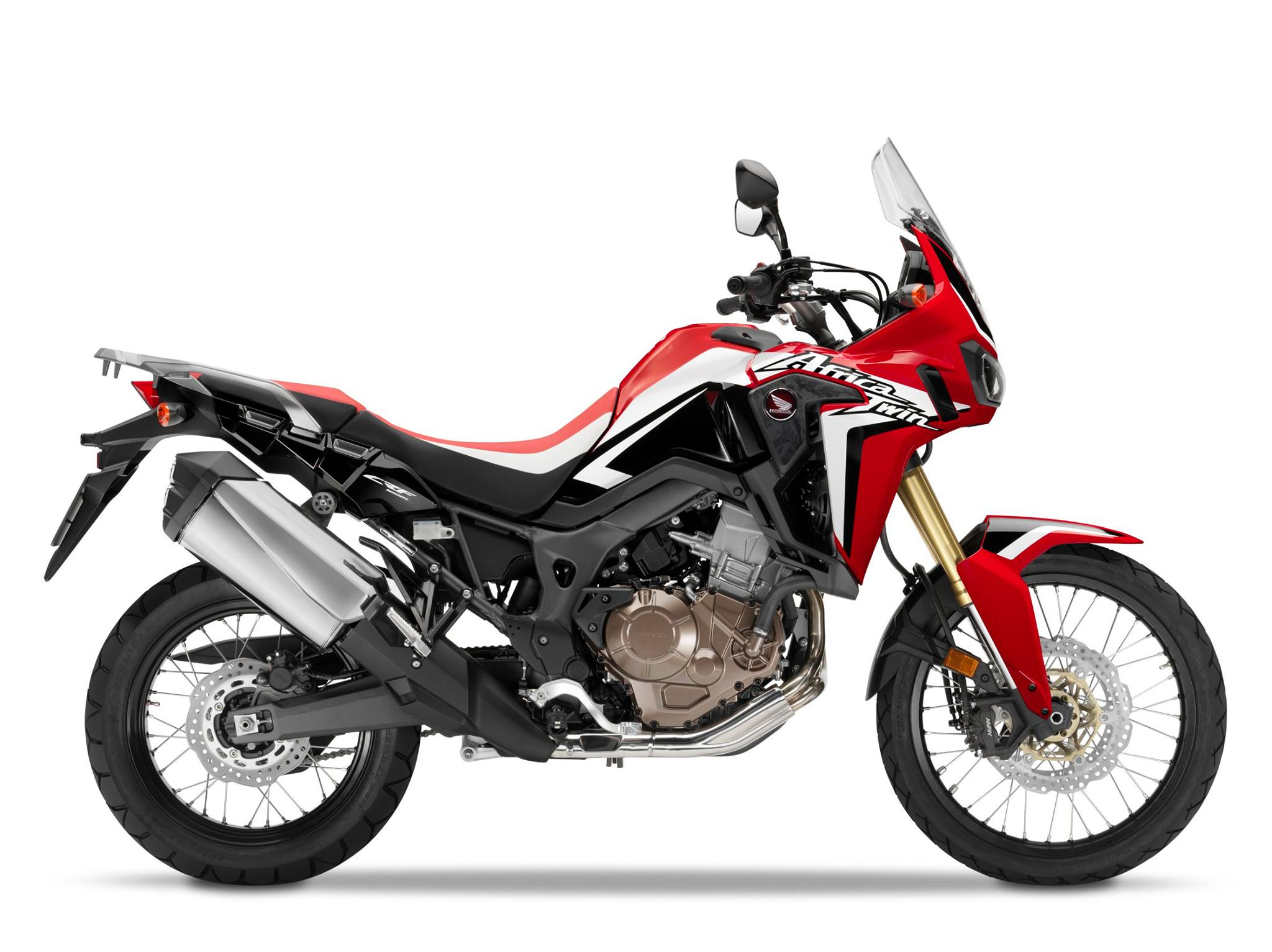 honda crf1000l africa twin 2016  eccola in video