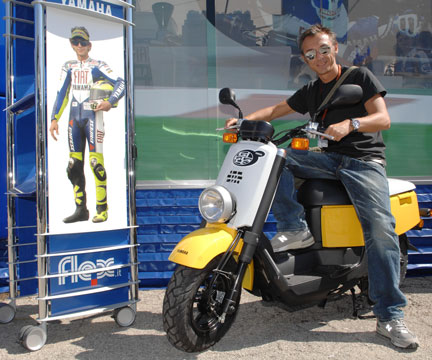 Debutto in riviera per Yamaha Giggle