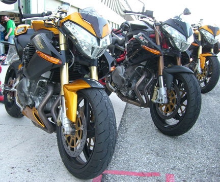 Benelli Tnt sport vs Cafe racer