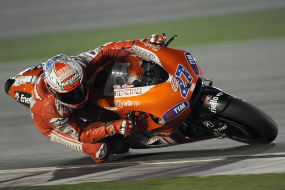 Casey Stoner test Losail