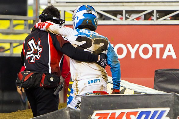 Chad Reed out per il 2012