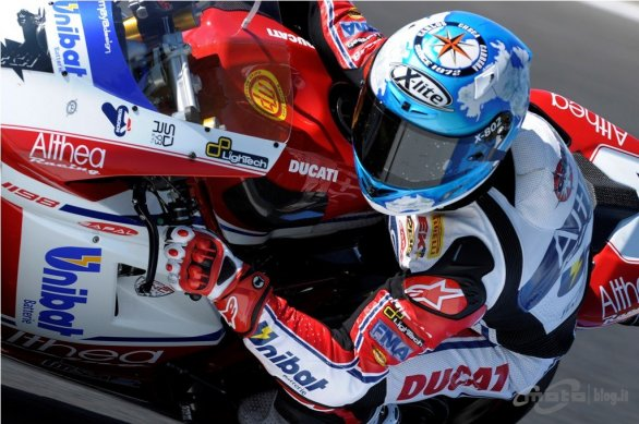 Checa Superpole Phillip Island 2011