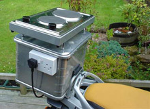 Barbecue Motorcycle
