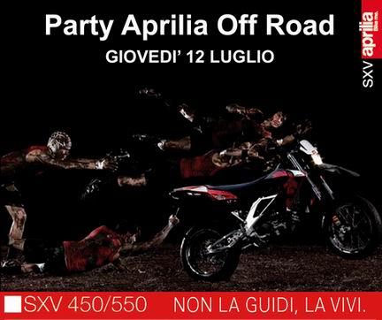 Aprilia OffRoad Party