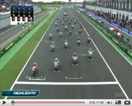 Superbike, gli highlights di Magny Cours