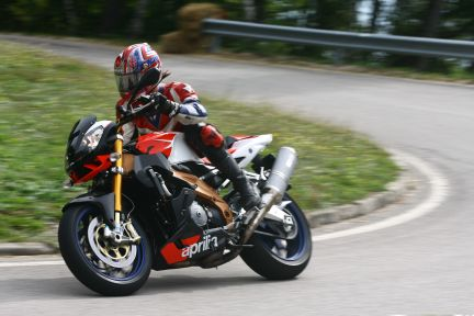 aprilia mr.cape tuono factory