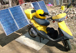 Scooter a energia solare