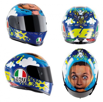 AGV GP-Tech Valentino\'S Face Limited Edition 2008
