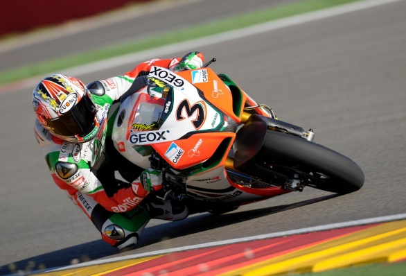 Aprilia Alitalia Racing - Test di Aragon