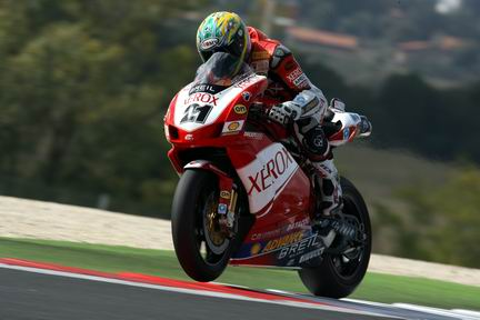 Super Troy Bayliss a Vallelunga nella Superpole