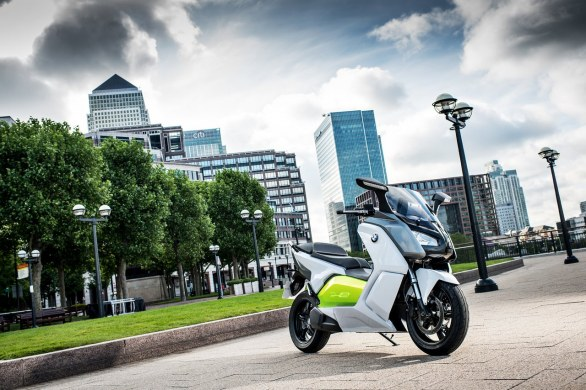 BMW Motorrad C evolution /video