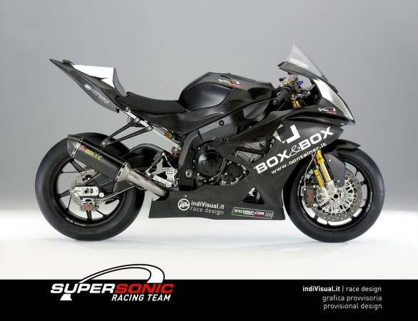 BMW S1000RR del Team Supersonic