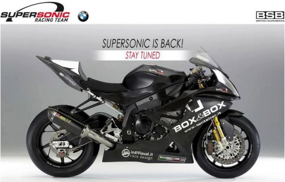 BMW S1000RR Team Supersonic BSB