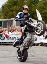 Chris Pfeiffer al European Stunt Riding Championship