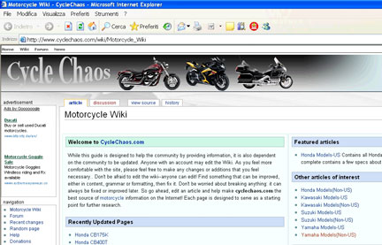 Cycle Chaos wiki