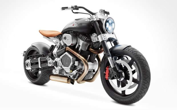 Confederate Motorcycles X132 Hellcat Speedster 2015