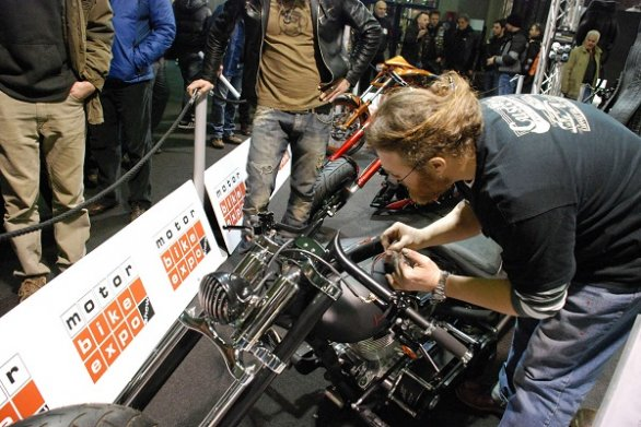 Al Motor Bike Expo 2012 la tappa italiana dell'International Bike Show Series