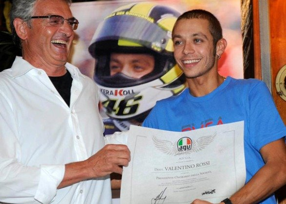 dainese: rossi presidente onorario agv