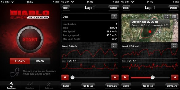 Diablo Super Biker per iPhone