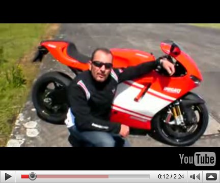 Ducati desmosedici rr top speed test - Replica la porta rossa ...
