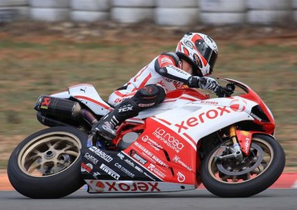 Ducati Xerox Junior Team in pista a Binetto