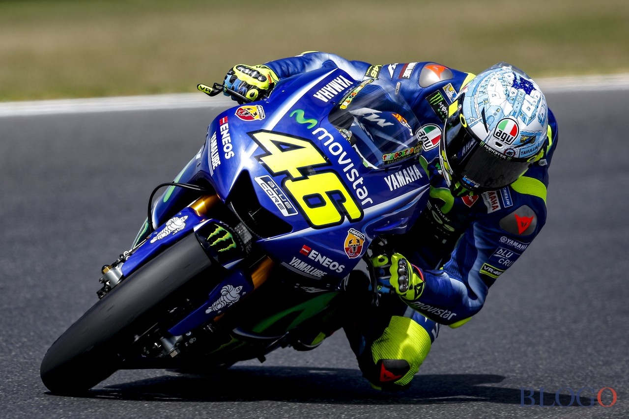 motogp test australia 2017 valentino rossi ancora molti dubbi. Black Bedroom Furniture Sets. Home Design Ideas